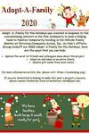 Adopt-A-Family for the Holidays Flyer