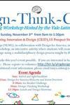Design Thinking Workshop Flyer