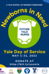 Yale Day of Service: Newborns in Need Fundraiser Flyer
